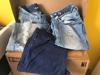 3 pairs of size 7 Women's jeans Derwood, 20855