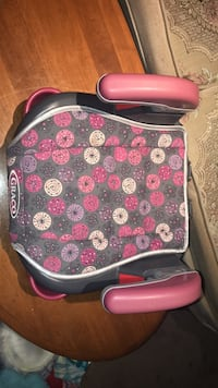 pink and black floral print plastic container London, N6E 2B2