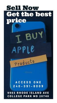 We Buy Apple Products College Park
