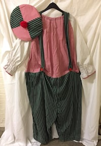 Vintage professionally made Clown suit (adult sz) Alexandria, 22206