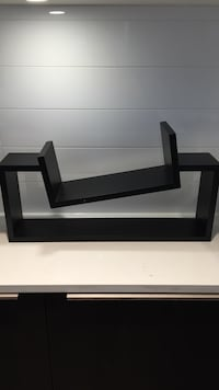 Modern black hanging shelf Vancouver, V5L 1S5