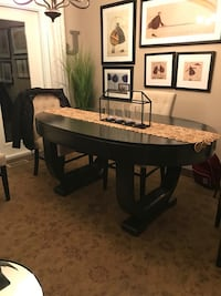 Art Deco dining table made from solid wood Oakville, L6J 2T5