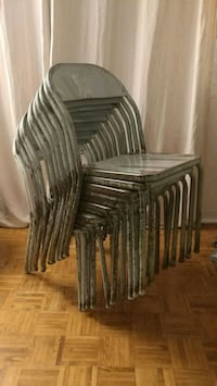 Vintage Industrial Steel Chairs / 30+ Chairs Avail Laval, H7X 2B6