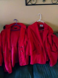 red and black zip-up jackets Saugus, 01906