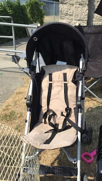 baby's black and white stroller Surrey, V3W 0T5