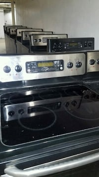 black and gray induction range oven Alexandria, 22302