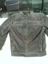 Leather jacket casual, go's  nice with jeans,t sheet or dress shert. Edmonton, T5K