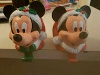 Mickey collectable stocking holders  Whitby, L1N 8X2