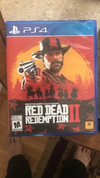 Ps4 red dead redemption 2 game  Mississauga, L5B 4E3