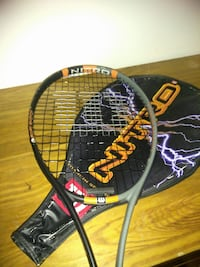 gray and black Nitro tennis racket Halethorpe, 21227