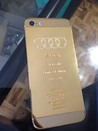 iPhone 5S 16GB 24KT Gold AUDI Edition - rogers / chatr Mississauga