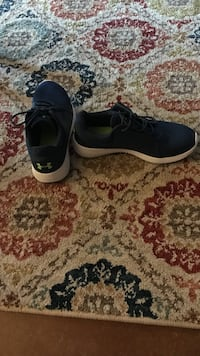 Navy Blue Under Armor Shoes Harker Heights, 76548
