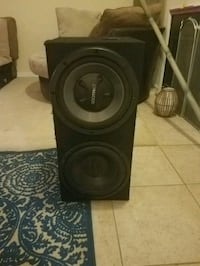 black and gray Pioneer subwoofer speaker Knoxville, 37931