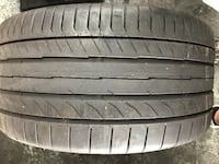 275 35 19 Continental 5p RunFlat (1 Only) Like New $100.00 Mission Viejo