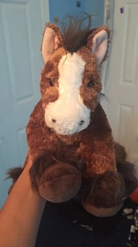 Large Build-A-Bear Clydesdale Horse Stuffed Animal Silver Spring, 20910