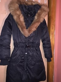 Black Winter Jacket Manteau Noir femmes/woman
