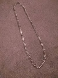 silver chain link necklace with pendant Edmonton, T5A 4G6
