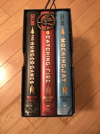 Hunger Games Hardcover Trilogy + Pendant Calgary, T2A