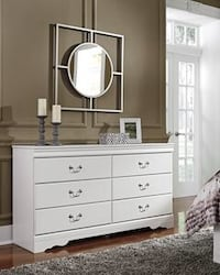 Anarasia White Dresser | B129 Houston, 77019