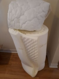 Memory foam and Pillow topper - single bed Oakville