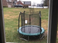 Well maintained 8inch Trampoline with enclosure combo netting Louisville, 40223