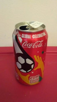 $8  cola cans fifa world cup and micky mouse $10