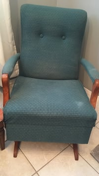 70's vintage rocking chair Lacombe, T4L