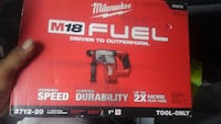 Milwaukee M18 Fuel power drill box Maywood, 60153