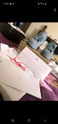 Louboutins Grey Red bottoms Ajax, L1T 0G9