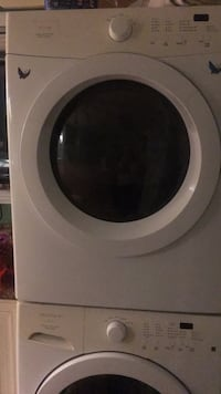 White front-load clothes Dryer (gas) East Rockaway, 11518