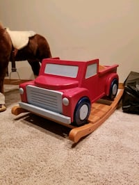 Solid wood rocking truck New Market, 21774