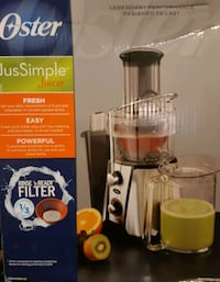 OSTER JUS SIMPLE JUICER 5 SPEED Welland, L3B 4T6