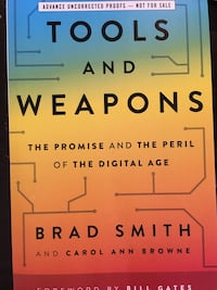 Tools and weapons New book