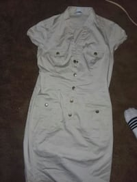 H&M cackie button up dress size 12  Springfield, 45503