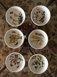 """Fruit Salad Bowl 5-1/2"""" NEW, PORTMEIRION,PRICED each, total =6 Hoover, 35226"""