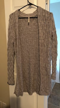 women's brown knitted cardigan Winder, 30680