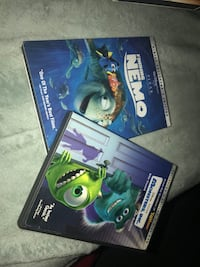 Collectors edition  Disney 2 disc sets both movies for $12 Modesto, 95351