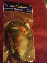IPOD/IPHONE Audio Cable