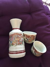 Beautiful sake set Laval, H7W