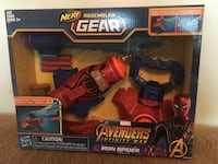 NERF Marvel Assembler Gear Iron Spider  Langley, V2Y 1B5