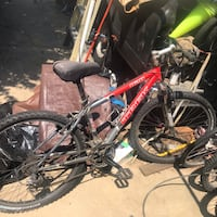 Red and black front suspension  mountain bike Rockville, 20850
