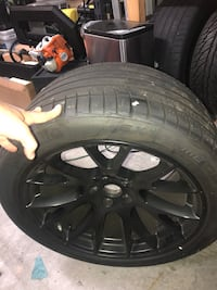 Hellcat replicas with 315 TPMS Two rear wheels and tires only 315x35zr20 5x115mm Frederick, 21702