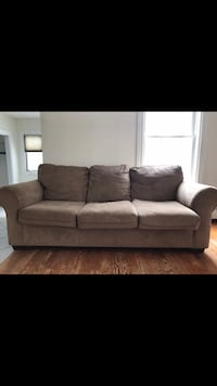 Brown couch and loveseat  Seekonk, 02771