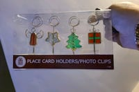 Place Card Holders/phto clips