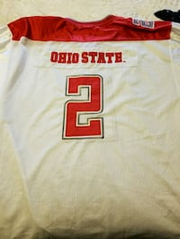 white and red # 10 jersey shirt El Paso, 79936