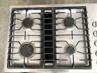 Gas 4 burner stove top