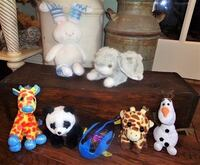 Lot of 7 NEW Plush Stuffed Animals Oklahoma City, 73012