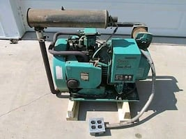 Onan 4000 watt electric start generator.