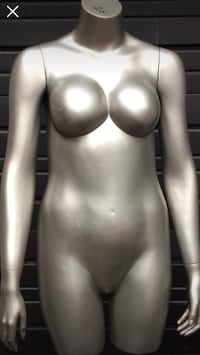 Grey mannequin bought from popular retail store Toronto, M1S 2V9