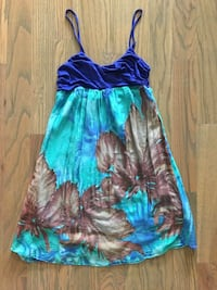 Chiffon flowy sundress or beach cover up! size small- forever 21 Spring Hill, 37174